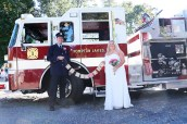#njwedding, #justmarried, #pomptonlakesnjwedding, #firetruck, #firefighterwedding, #njweddingphotography, #weddingphotographer, #weddings, #newjerseyweddingphoto