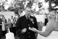 #brideandgroom, #justmarried, #njwedding, #apicturesquememoryphotography, #weddingphotography, #weddings, #weddingcakeintheface, #backyardwedding, #njweddingphotographer, #pomptonlakesnjwedding