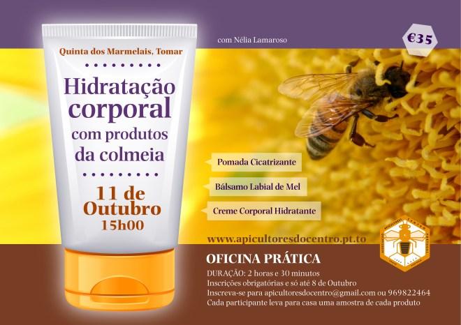 OFICINA PRÁTICA: venha fazer cosméticos com produtos da colmeia