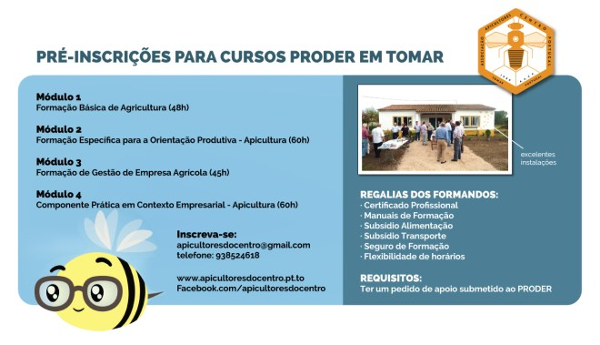 Cursos financiados PRODER