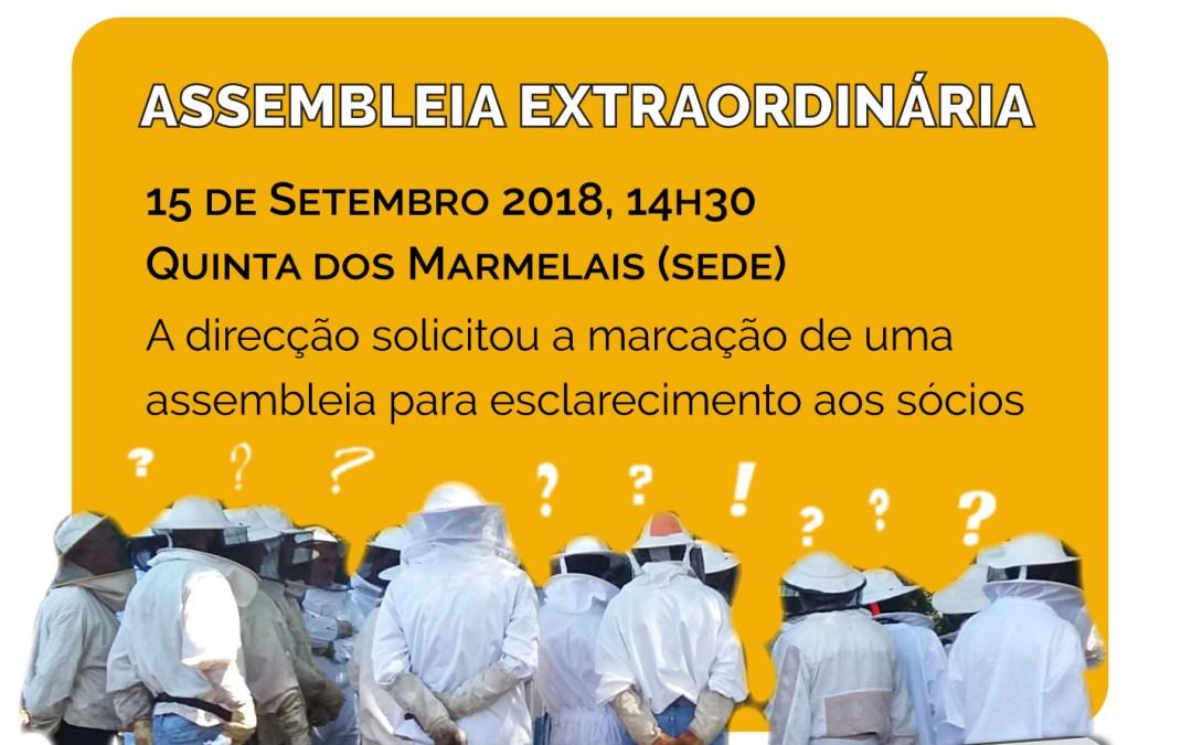 ASSEMBLEIA GERAL EXTRAORDINÁRIA – 15 de Setembro