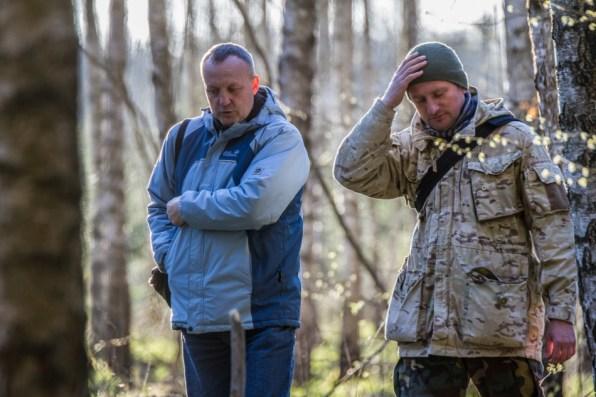 09 Savivaldybes ekologas Vidmantas Malinauskas ir ornitologas Deivis Dementavicius