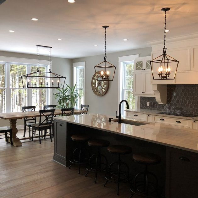 Kitchen Living Room Dining Combination Decorating A Small: 20+ Kitchen Dining Living Room Combo Small Tips
