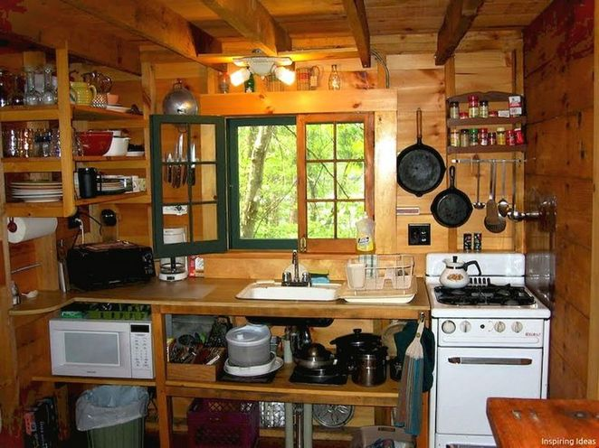 35 Brief Article Teaches You The Ins And Outs Of Rustic Cabin Kitchens Small And What You Should Do Today Apikhome Com