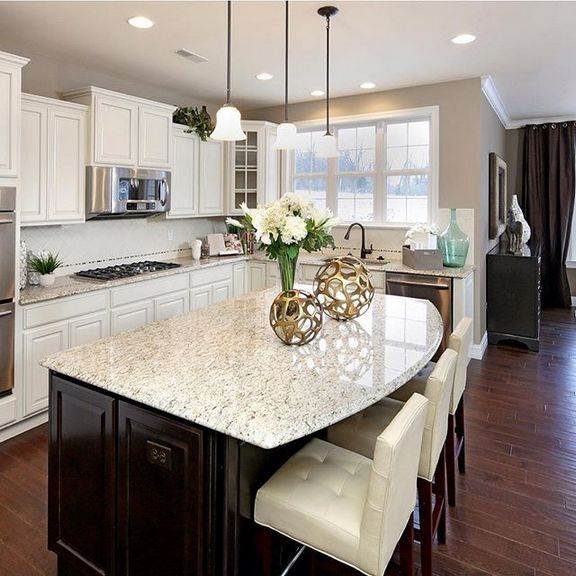 White Kitchen Cabinets And Countertops: +41 What Dark Countertops White Cabinets Kitchen Counter