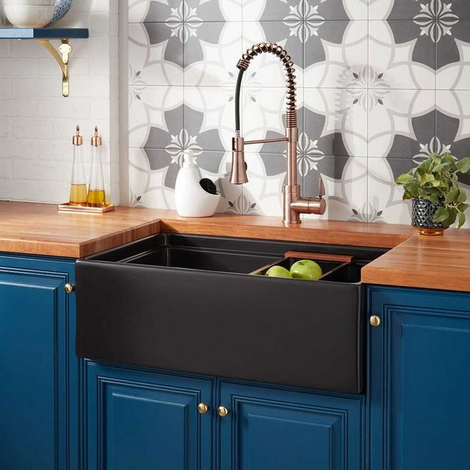 Navy Blue Kitchens That Look Cool And: +30 Choosing Good Navy Blue Kitchen Cabinets Paint Colors