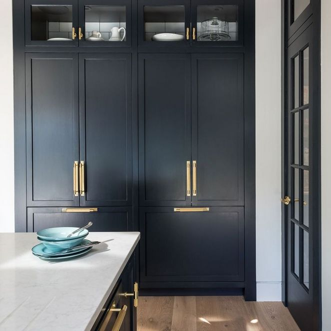 Pleasing 30 Choosing Good Navy Blue Kitchen Cabinets Paint Colors Download Free Architecture Designs Ferenbritishbridgeorg