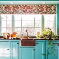 31+ Choosing Good Teal Kitchen Cabinets Turquoise Aqua 13