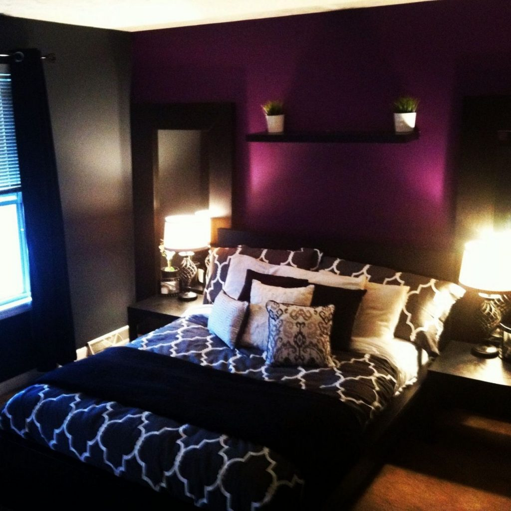 35+ The Upside to Purple and Grey Bedroom Ideas for Girls ...