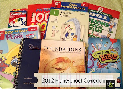 HomeSchool Curriculum for my 5 & 4 year olds