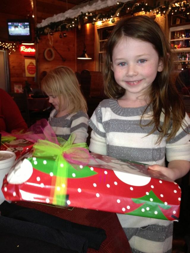 Emma got an early gift!