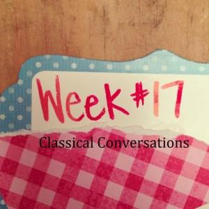 C1:W17 Classical Conversations