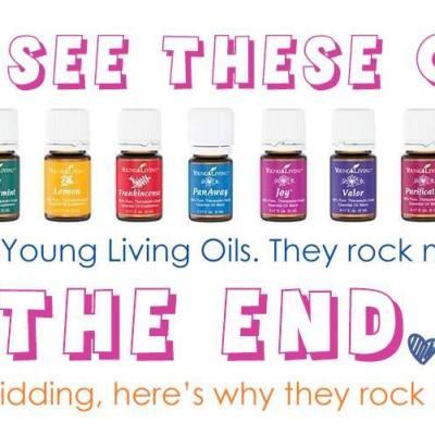 Young Living Essential Oils ROCK! apileofashes.com
