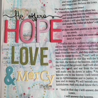 Journaling Bible   Study of Hosea Day 2   apileofashes.com #journalingbible #jbj