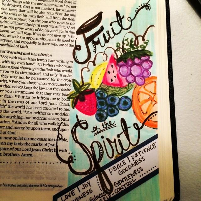 Journaling Bible | Fruit of the Spirit | apileofashes.com