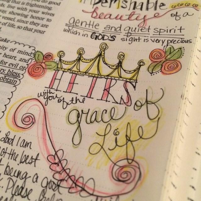 Journaling Bible   Respectful & Pure   apileofashes.com