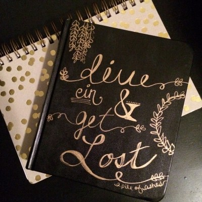 Journaling Bible | Dive in and get lost – The Cover