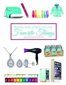 These are a few of my Favorite Things… 2014