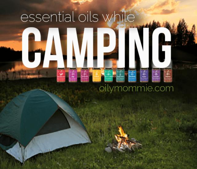 Essential Oils While Camping | apileofashes.com