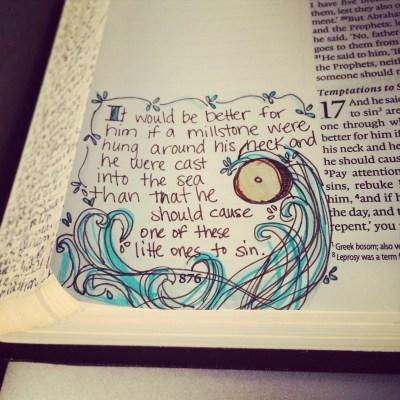 Journaling Bible   Humility apileofashes.com