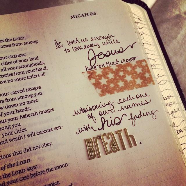 #NTDAdvent Journaling Bible Week 1 | apileofashes.com