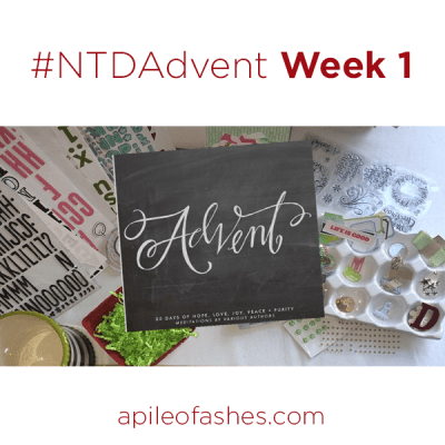 #NTDAdvent Journaling Bible Week 1