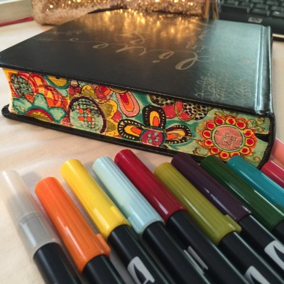Journaling Bible | Book Ends apileofashes.com