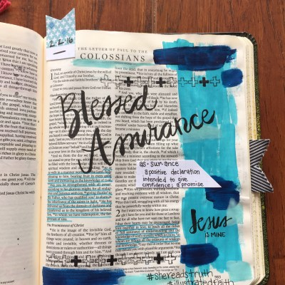 Journaling Bible | Blessed Assurance