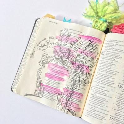 Journaling Bible | IF Beautiful Kit Day 2