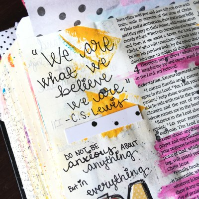Journaling Bible | Think on These Things