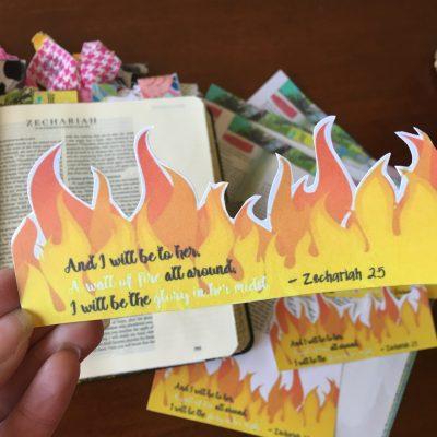Embraced Grace | Wall of Fire