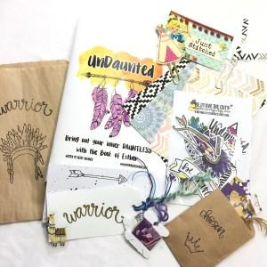Undaunted | MyEmbracedGrace Bible Journaling Kit