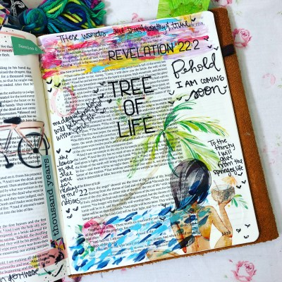 Revelation 22 | Bible Journaling Page