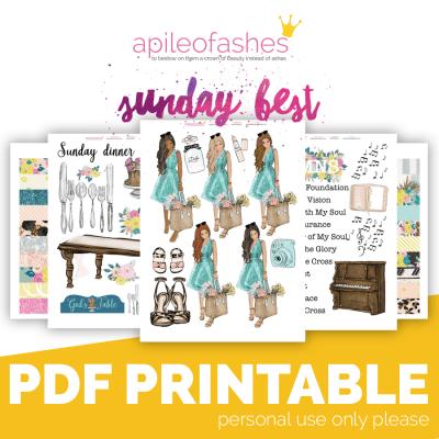 Sunday Best Bible Journaling Kit
