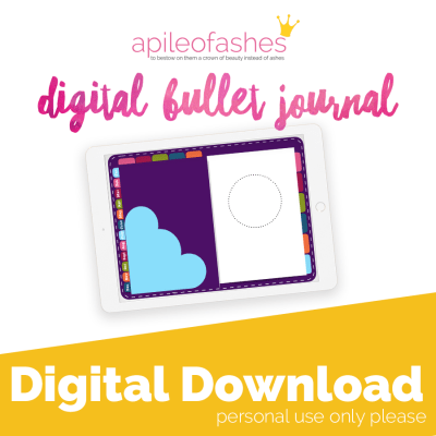 plum digital bullet journal