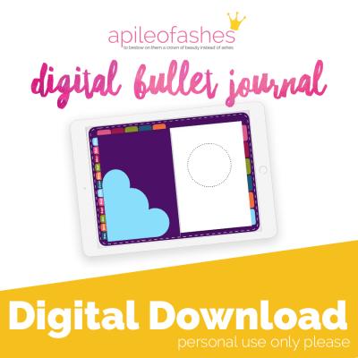 plum digital bullet journal