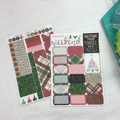Christmas Plaid Sheets