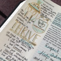 Journaling Bible | THRIVE