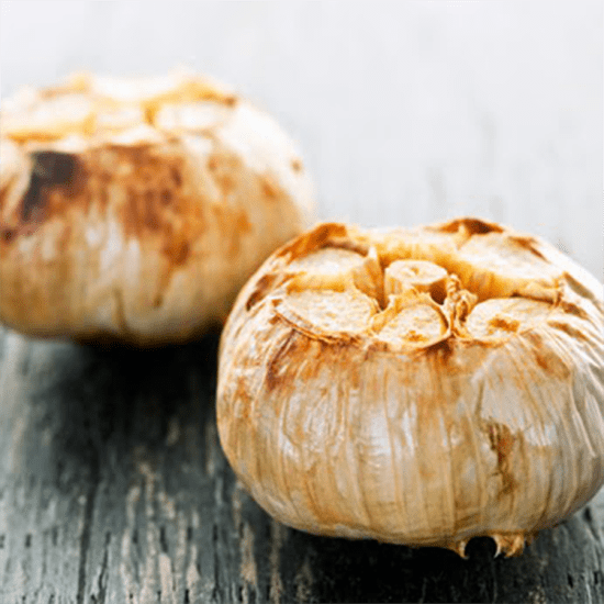 slow roasted garlic