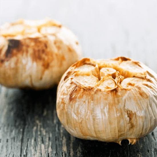 slow roasted garlic