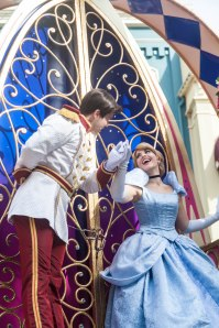 cinderella swoons over prince charming