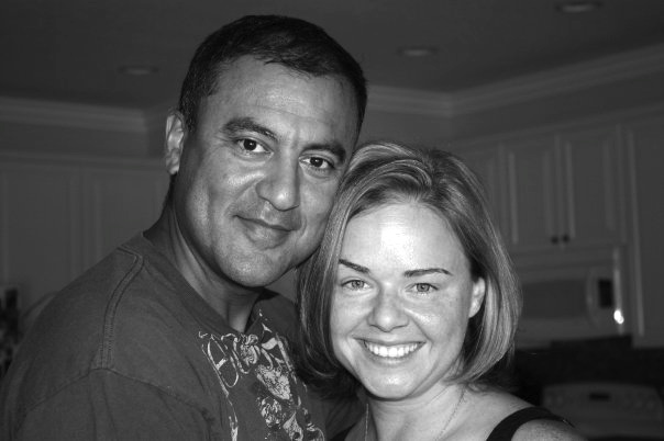 My husband and me - my favorite picture of the two of us!