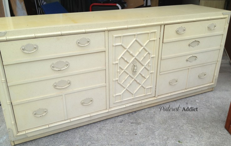 Thomasville Faux Bamboo Buffet/Console/Dresser