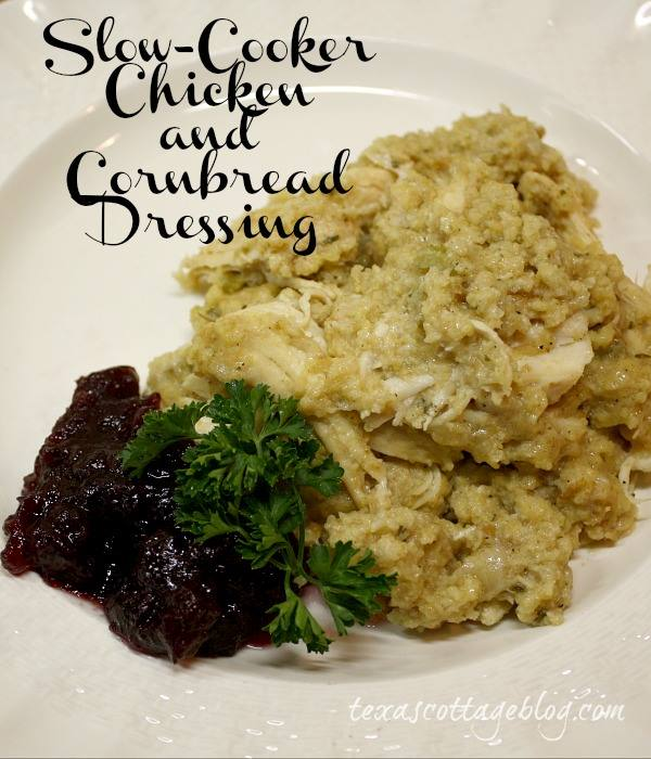 Texas Cottage - Chicken and Cornbread Stuffing