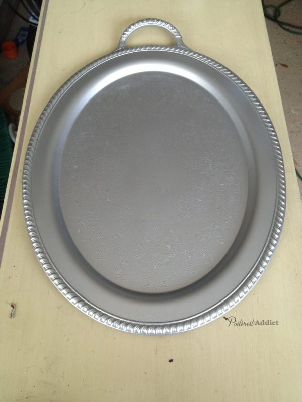 silver platter after