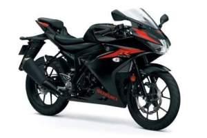 gsx r150 hitam