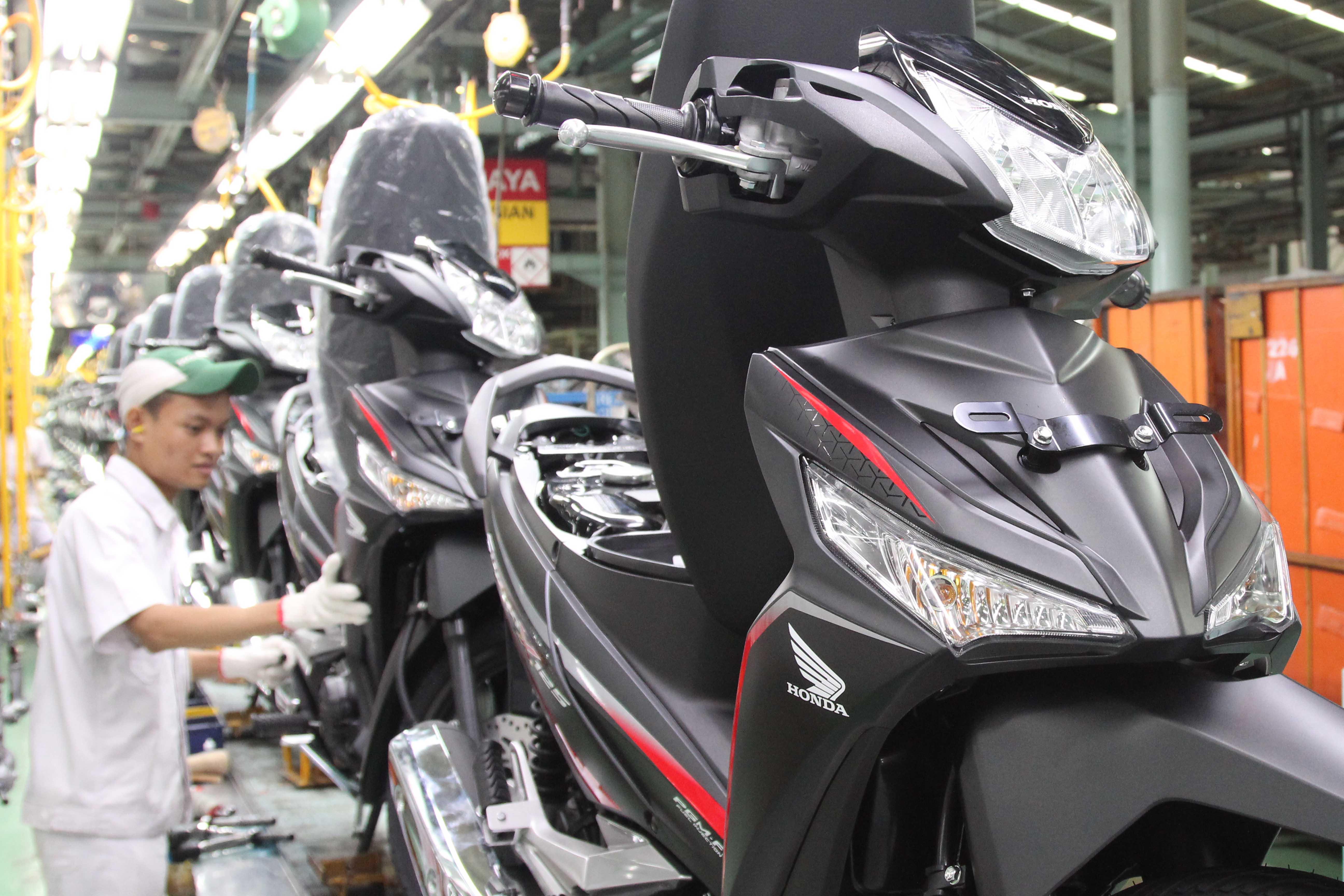 Warna baru Honda Supra X 125 F