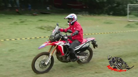 Honda CRF250 RALLY test ride