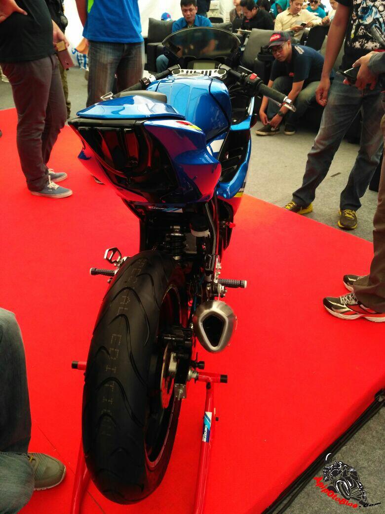Harga aksesoris sarp untuk Suzuki GSX R150 tambah peforma 2