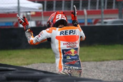 Marc marquez Crash